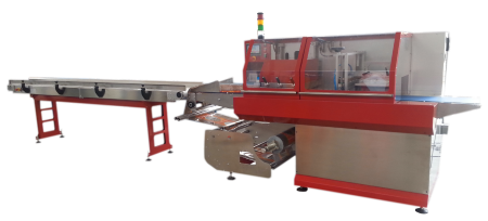 flowpack machine EWP 700 Box motion bottom loader