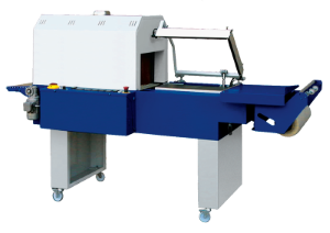 shrink film packaging machine with or without shrink tunnel